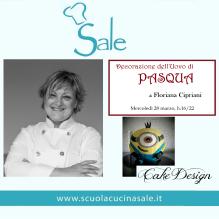 CORSO DI CAKE DESIGN PASQUA